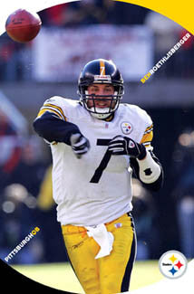 "Ben Roethlisberger ""Crosshairs"" Pittsburgh Steelers Poster - Costacos 2006"