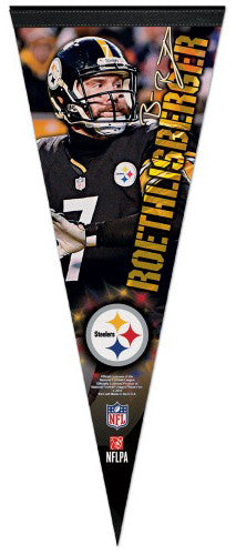 Ben Roethlisberger Pittsburgh Steelers Signature Series Premium Felt Collector's Pennant - Wincraft