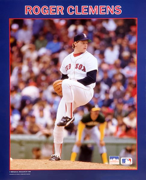 "Roger Clemens ""Red Sox Classic"" Boston Red Sox 16""x20"" MLB Action Poster - Starline Inc. 1988"