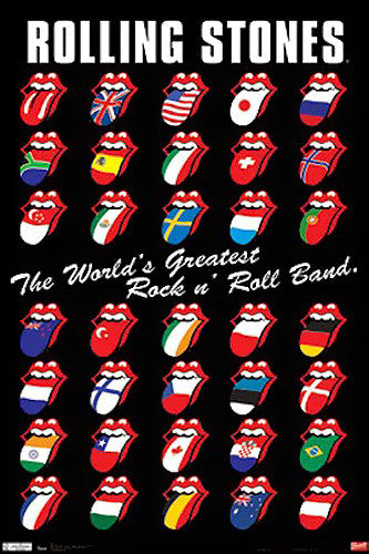 "The Rolling Stones ""World's Greatest Rock 'N Roll Band"" Poster - Trends Int'l."