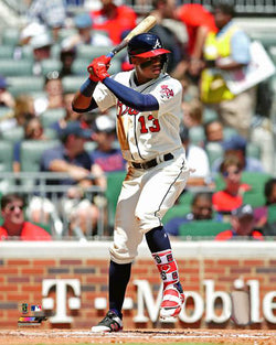 "Ronald Acuna ""Superstar"" Atlanta Braves Premium MLB Poster Print - Photofile 16x20"