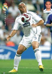 "Ronaldo ""Real Action"" Real Madrid CF Soccer Poster - CPG 2007"