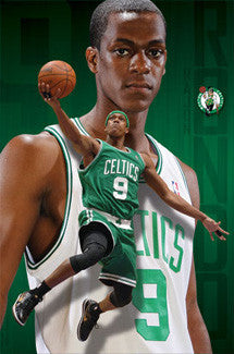 "Rajon Rondo ""Superstar"" Boston Celtics Poster - Costacos 2010"