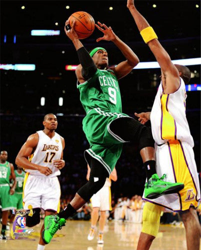 "Rajon Rondo ""Drive the Lane"" Boston Celtics Premium Poster Print - Photofile 16x20"