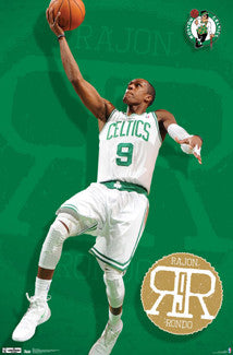 "Rajon Rondo ""Certified"" Boston Celtics Poster - Costacos 2012"