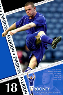 "Wayne Rooney ""Everton Action"" - U.K. 2003"