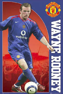 "Wayne Rooney ""Road Warrior"" - GB Posters 2006"