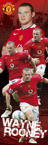 "Wayne Rooney ""Big-Time"" (Door Sized) - GB Posters 2005"