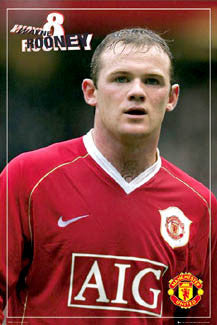 "Wayne Rooney ""Profile"" - GB Posters 2007"