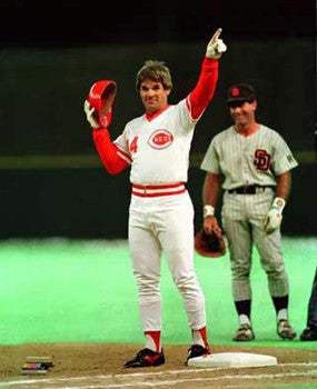 "Pete Rose ""The Record"" (1985) Cincinnati Reds Premium Poster Print - Photofile Inc."
