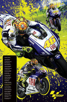 "Valentino Rossi MotoGP ""Super Action"" - Pyramid 2009"