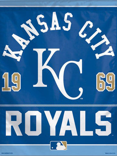 "Kansas City Royals ""1969"" Premium Collector's Wall Banner - Wincraft Inc."