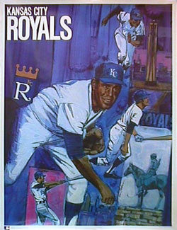 Kansas City Royals Theme Art - ProMotions Inc. 1971