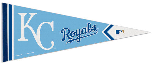 "KC Royals ""Powder Blue"" Premium Felt Pennant - Wincraft"