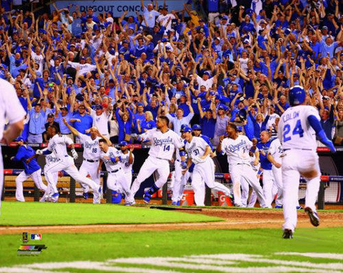 "Kansas City Royals ""Wild Celebration"" (9/30/2014) Premium Poster Print - Photofile 16x20"