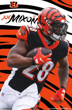 "Joe Mixon ""Superstar"" Cincinnati Bengals NFL Action Wall Poster - Trends International"