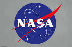NASA Space Administration Official Logo Poster - Trends International