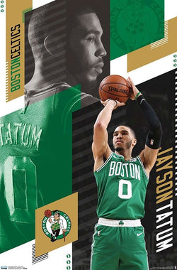 "Jayson Tatum ""Superstar"" Boston Celtics NBA Basketball Wall Poster - Trends 2019"