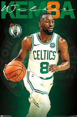 "Kemba Walker ""Green Machine"" Boston Celtics NBA Basketball Wall Poster - Trends 2019"