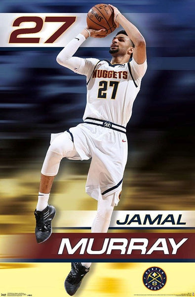"Jamal Murray ""Rise"" Denver Nuggets Official NBA Basketball Action Poster - Trends International Inc."
