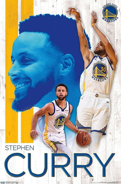 "Stephen Curry ""Golden State Great"" Golden State Warriors NBA Action Poster - Trends Int'l 2019"