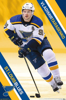 "Vladimir Tarasenko ""Superstar"" St. Louis Blues Official NHL Hockey Action Poster - Trends International"