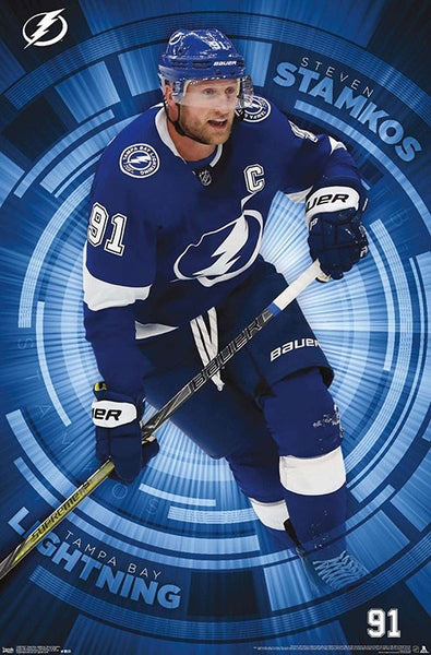 "Steven Stamkos ""Heart and Soul"" Tampa Bay Lightning Official NHL Action Poster - Trends 2019"