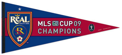 Real Salt Lake MLS Champs 2009 Commemorative XL Pennant - Wincraft