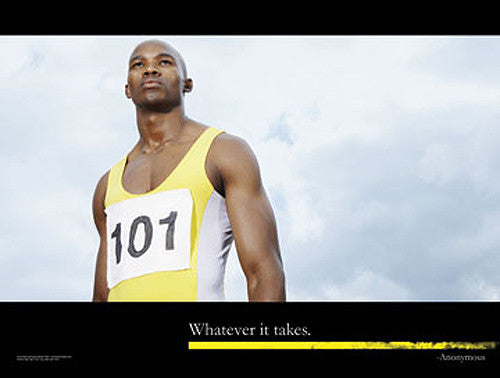 "Runner ""Whatever It Takes"" Motivational Inspirational Poster - Jaguar Inc."