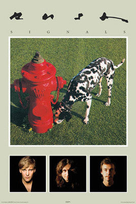 "Rush ""Signals"" (1982) Album Cover Poster - Aquarius Images"