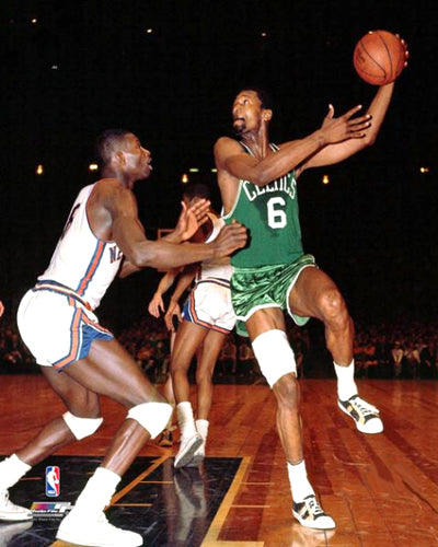 "Bill Russell ""Celtics Green"" (c.1966) Classic Premium Poster Print - Photofile Inc."