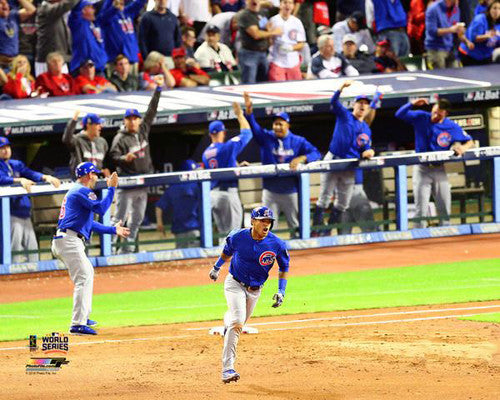 Addison Russell 2016 World Series Gm6 Grand Slam Chicago Cubs Premium Poster Print - Photofile 16x20