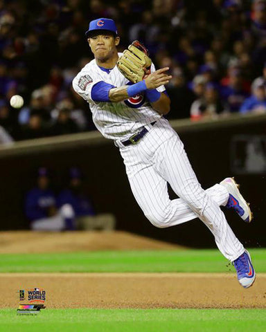 "Addison Russell ""Slick"" Chicago Cubs 2016 World Series Premium Poster Print - Photofile 16x20"