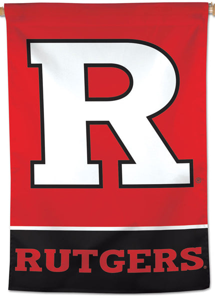Rutgers University Scarlet Knights Official NCAA Team Logo NCAA Premium 28x40 Wall Banner - Wincraft Inc.