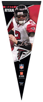 "Matt Ryan ""Signature"" Premium Collector's Pennant (L.E. /2,009)"