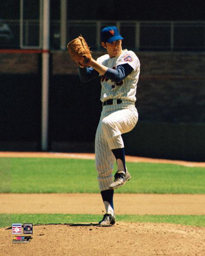 "Nolan Ryan ""New York Mets Classic"" (c.1971) Premium Poster Print - Photofile Inc."