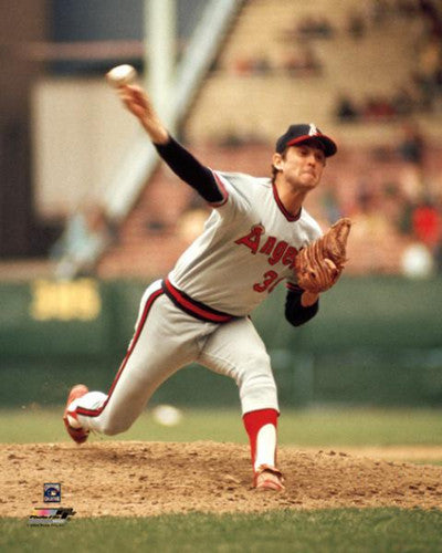 "Nolan Ryan ""California Angels Classic"" (c.1977) Premium Poster Print - Photofile Inc."