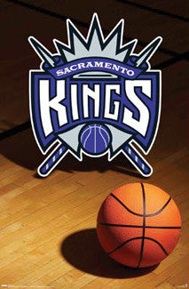 Sacramento Kings Official Team Logo Poster - Costacos