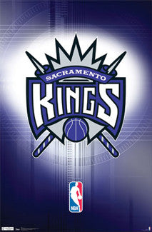 Sacramento Kings Official NBA Team Logo Poster - Costacos Sports