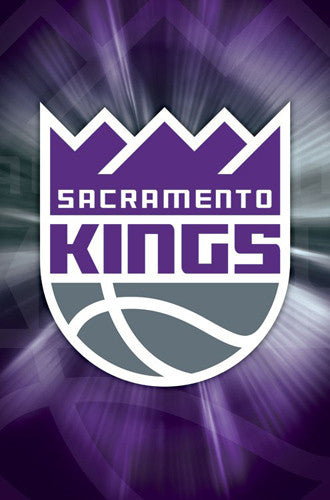 Sacramento Kings Official NBA Basketball Team Logo Poster - Trends International