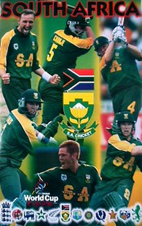 Team South Africa, World Cup Cricket 1999 - Starline Inc.