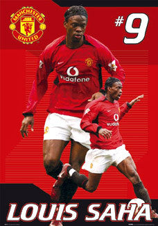 "Louis Saha ""Superstar"" - GB Posters 2004"