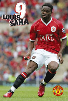"Louis Saha ""Action"" - GB Posters 2006"