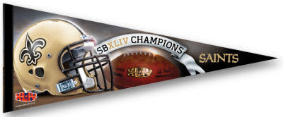 New Orleans Saints Super Bowl Champs Premium Felt Pennant