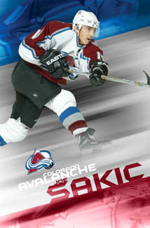 "Joe Sakic ""Slapshot"" - Costacos 2005"