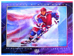 U.S. Olympic Hockey 2002 - Fine Art Ltd.