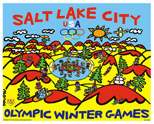 "Salt Lake 2002 ""Winter Playground"" - Fine Art Ltd."