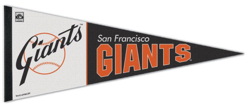 San Francisco Giants Retro-1960s-Style MLB Cooperstown Collection Premium Felt Pennant - Wincraft