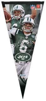 "Mark Sanchez ""Big-Time"" EXTRA-LARGE Premium Felt Pennant - Wincraft"