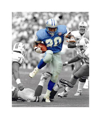 "Barry Sanders ""Work of Art"" (c.1994) Giclee-on-Canvas - Photofile"